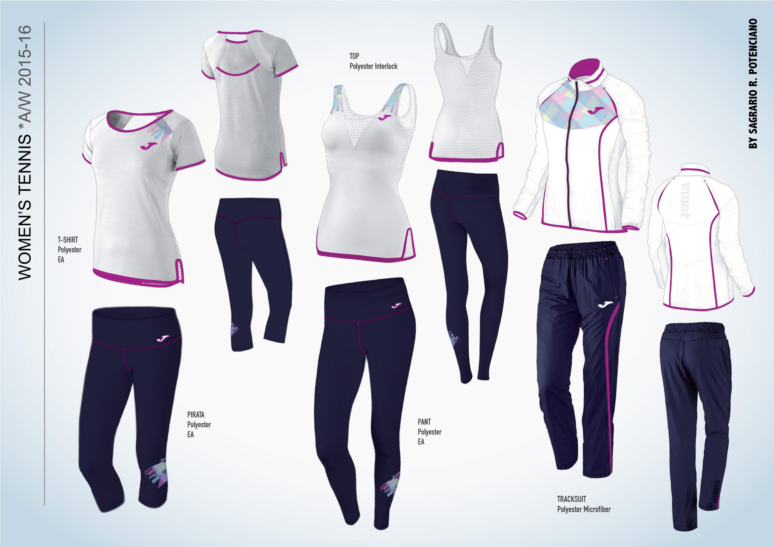Tenis mujer 2 Active Wear